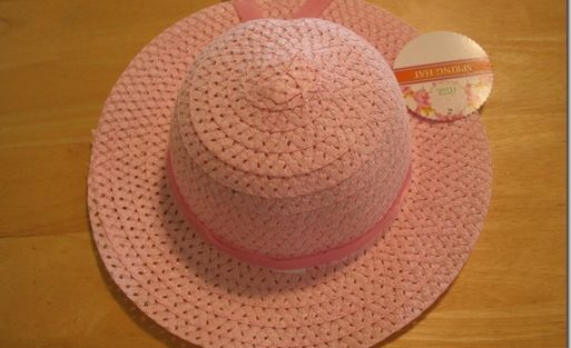 Frugal Girls' Easter Bonnet! (Tutorial)