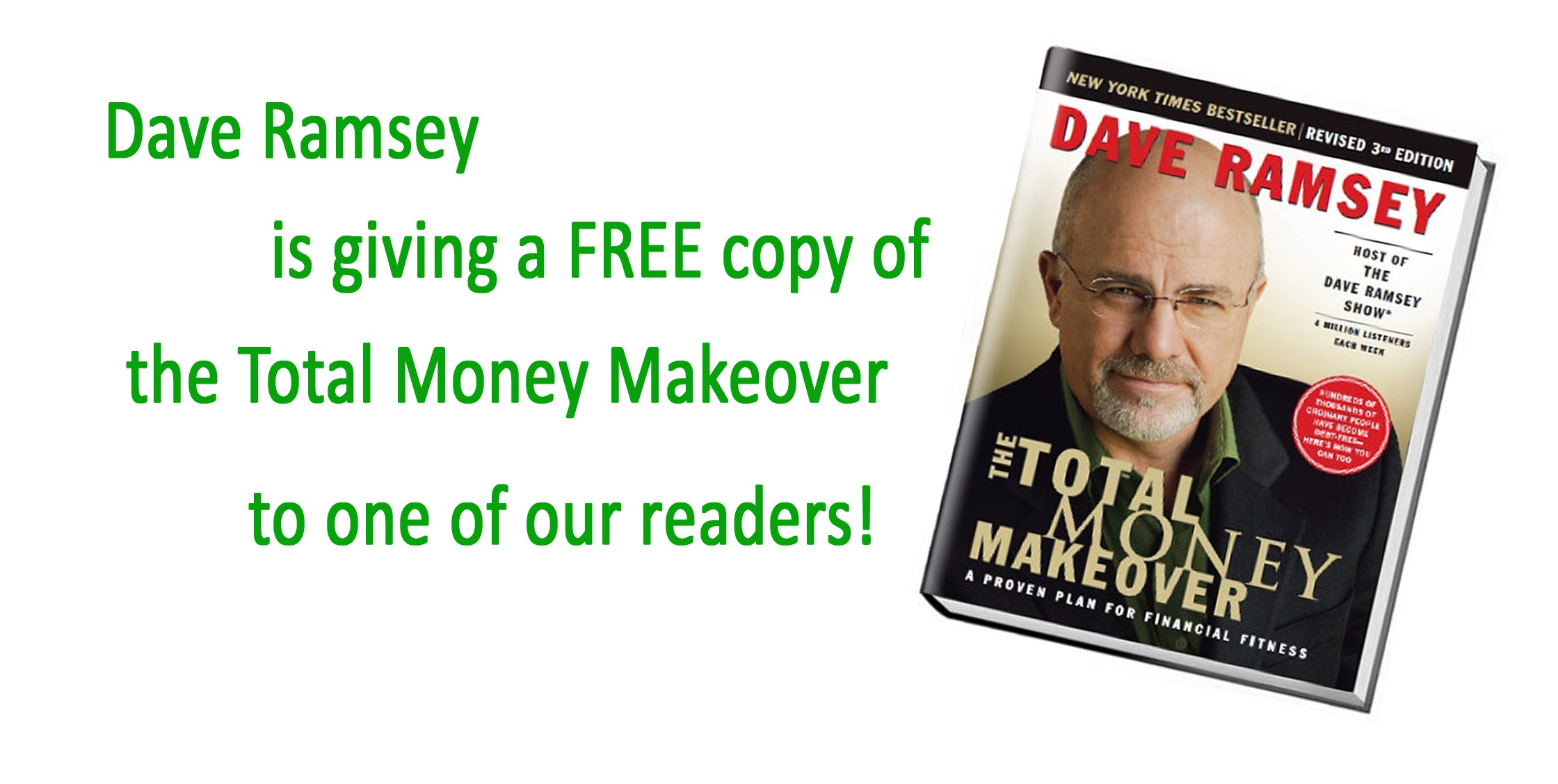 Dave Ramsey Giveaway copy