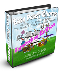 Easy Peasy Chores - Homeschool Edition
