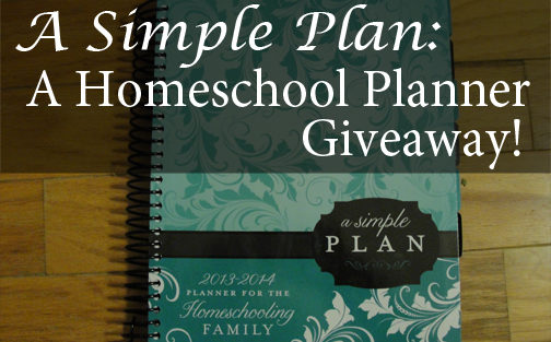 Mardel's Homeschool Planner Review & Giveaway