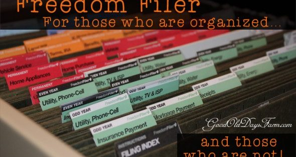Freedom Filer Review and Giveaway
