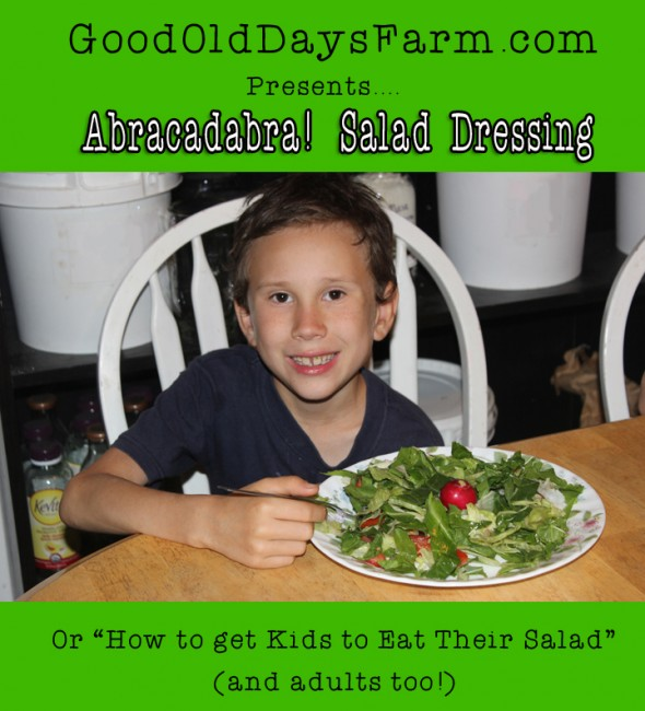 How to Get Kids To Eat Their Salad