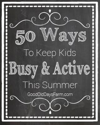 50 Ways To Keep Kids Active