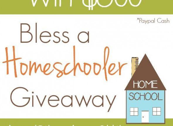Bless a Homeschooler Giveaway