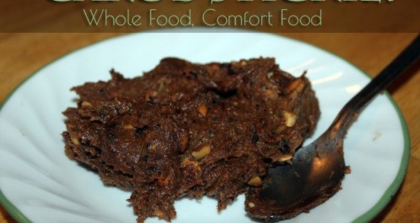 Carob Sticky – My Whole Food Comfort Food Recipe