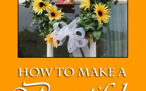 How To Make a Beautiful Fall Wreath On the Cheap!