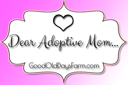 Dear Adoptive Mom, an open letter to Moms who adopt