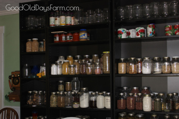 Tour My Real Food Kitchen - GoodOldDaysFarm.com