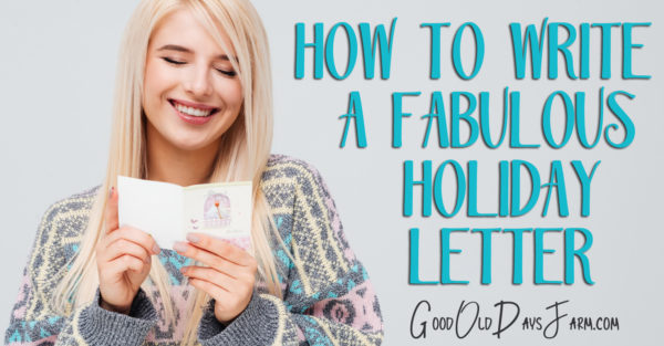 How To Make Your Holiday Letter Stand Out (Free Printable!)