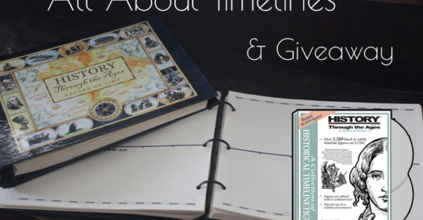 All About Timelines + a GORGEOUS Homeschool In The Woods Giveaway!