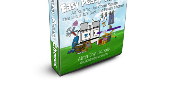 Easy Peasy Chores Giveaway