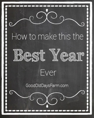 How To Make This The Best Year Ever