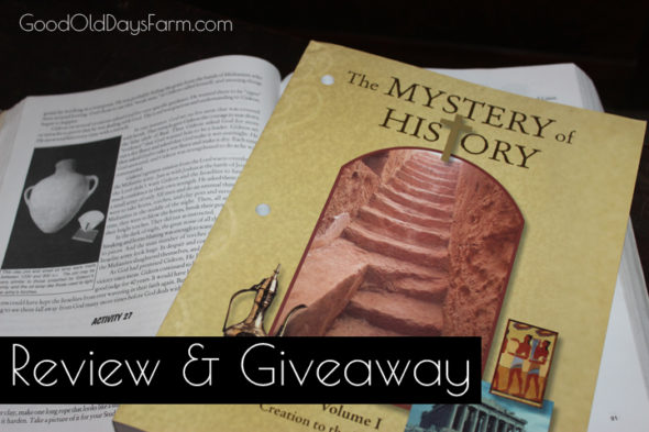 Mystery of History Review & Giveaway