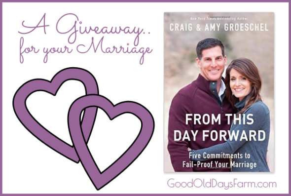 Giveaway for From This Day Forward by Craig & Amy Croeschel