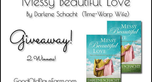 Messy Beautiful Love Giveaway