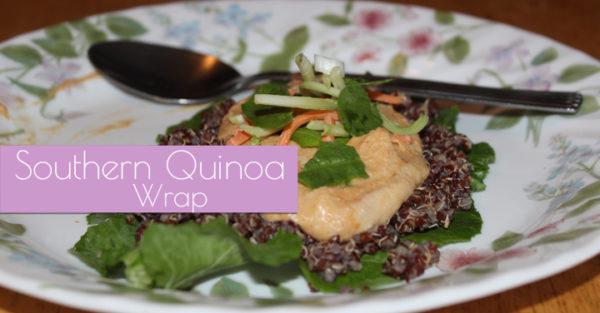 Southern Quinoa Wrap