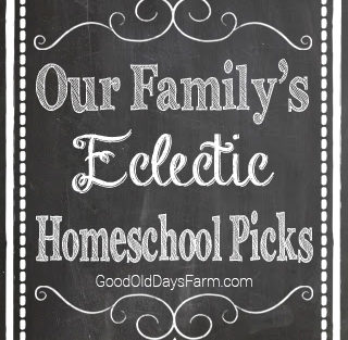 Our Family's Ecclectic Homeschool Picks