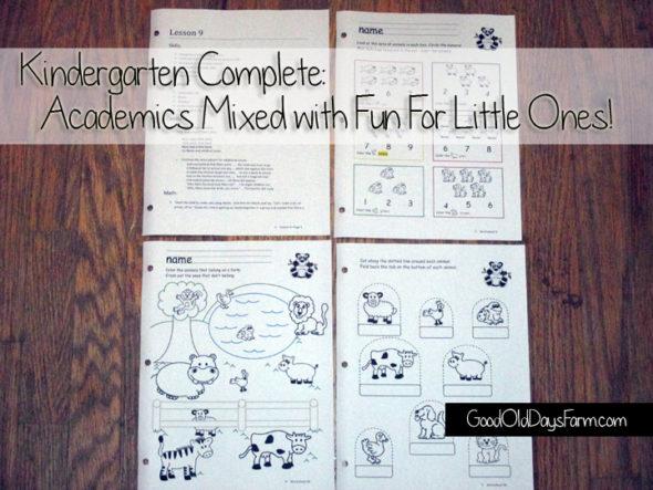 Kindergarten Complete Giveaway