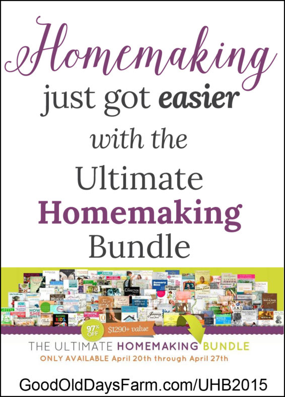 Homemaking Just Got Easier!
