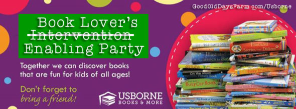 Book Lover's Intervention (Enabling!) Party