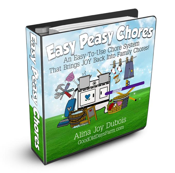 Easy Peasy Chores