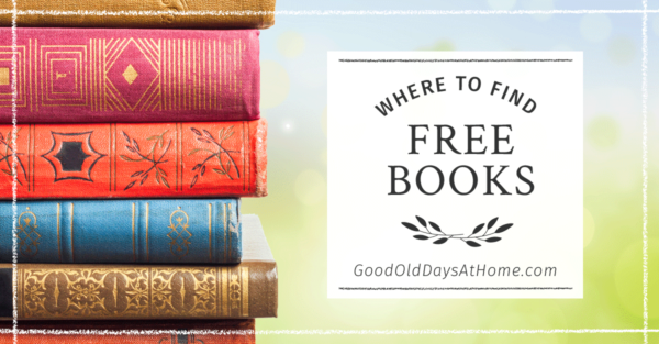 Where To Get Free (or Almost Free) Books