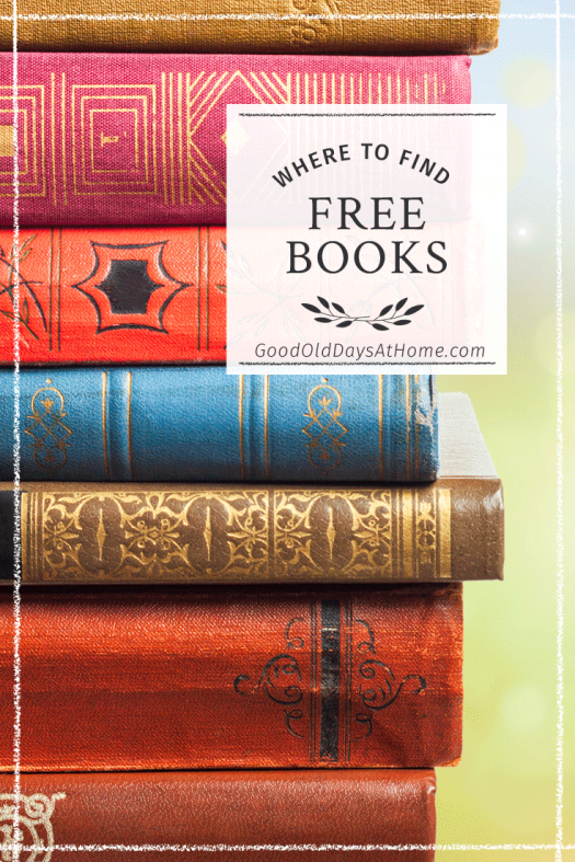 where to find free books