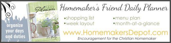 Homemakers Friend Planner