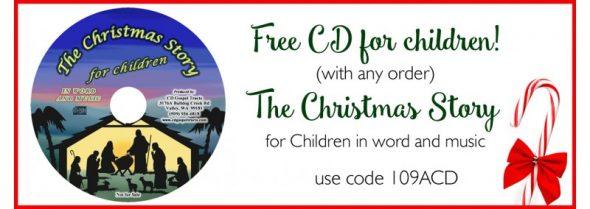 Christmas Story for Children CD free-800x284