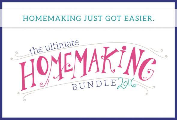 Ultimate Homemaking Ebook Bundle Gave me so many GREAT tools!