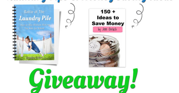 How to win with Laundry AND Money:  Insanely Helpful Giveaway!