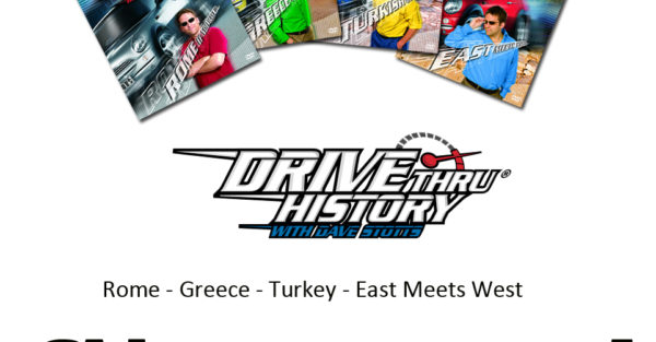 Drive Thru History:  Ancient History Giveaway For Middle Schoolers