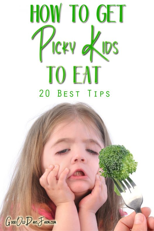How To Get Your Kid To Eat Vegetables
