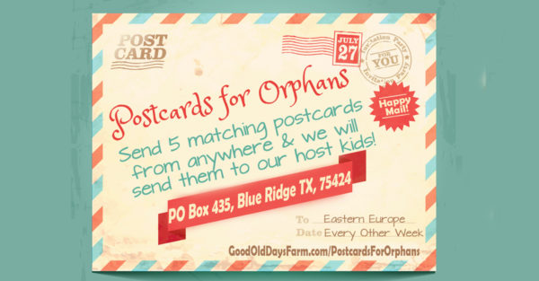 Postcards for Orphans