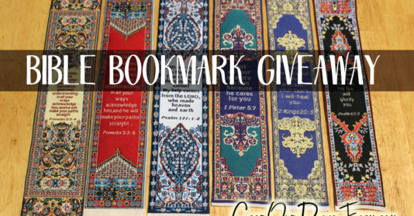 Bible Journaling Bookmark Giveaway