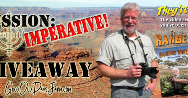 Ranger Mike Creation Science DVD Giveaway!