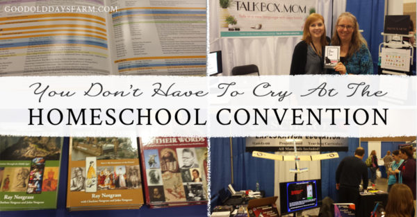 How To Not Cry Tears of Overwhelm At The Homeschool Convention