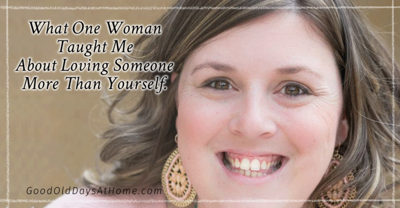 What Mandy Kelly Taught Me About Loving Someone More than Yourself