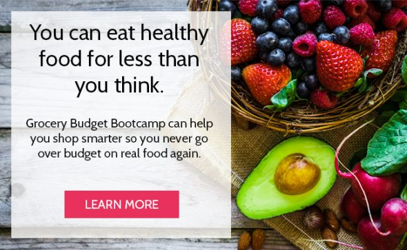 You can eat healthy food for less than you think