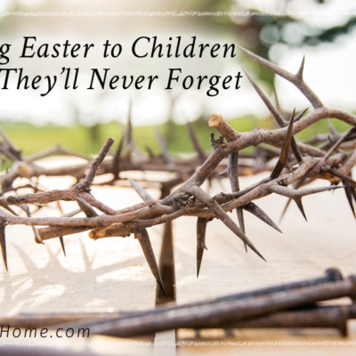 Explaining Easter to Children, Easter tradition for kids