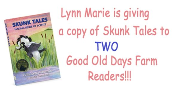 Have You Seen Our Skunk Tales Giveaway on Facebook?