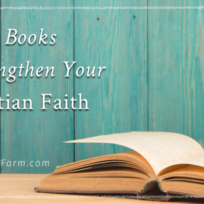strengthen your Christian faith