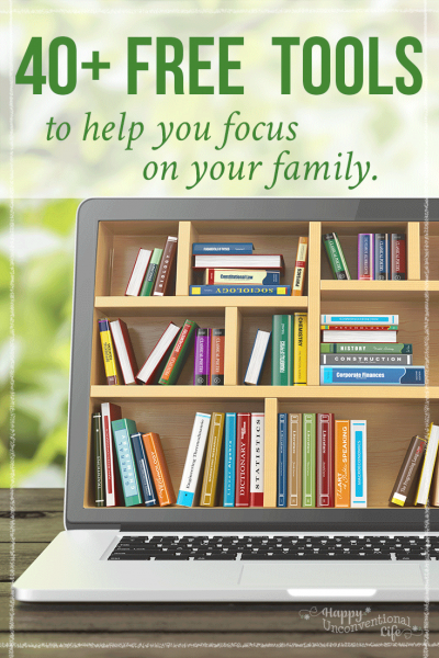 40 Free Tools To Help You Focus On Your Family