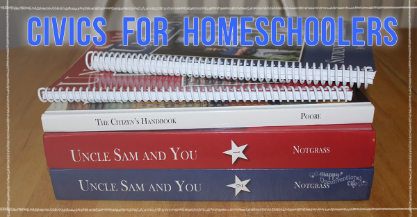 Uncle Sam and You:  A Civics For Homeschoolers Program Our Family Loves