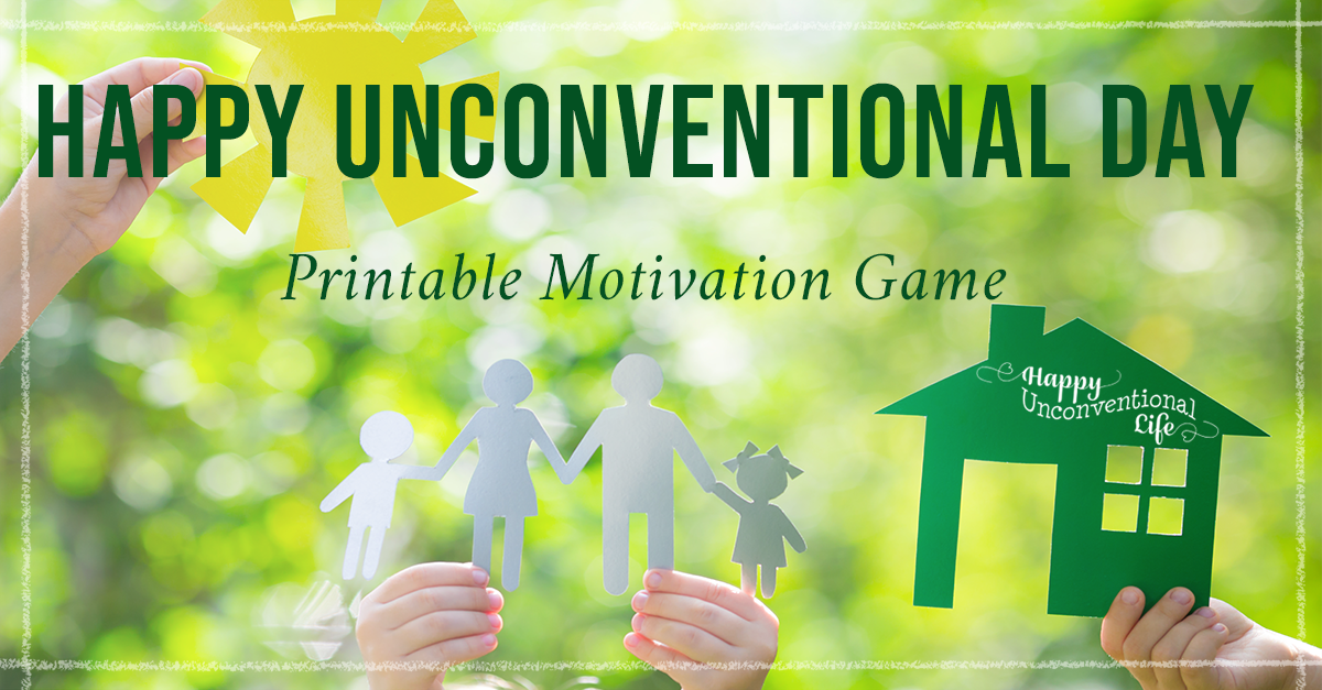 Happy Unconventional Day Motivation Game
