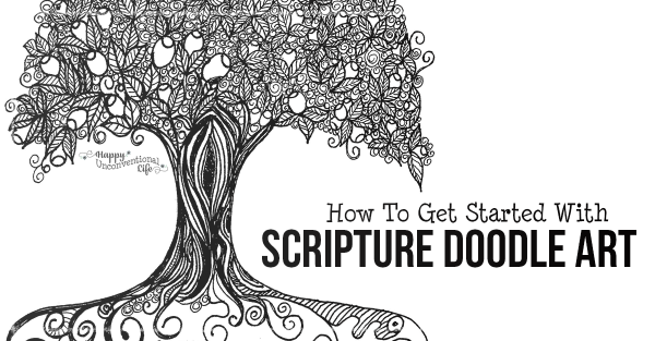 How To Get Started With Scripture Doodle Art
