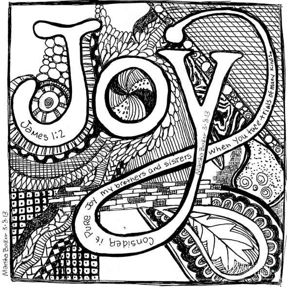 How To Get Started With Scripture Doodle Art - Happy ...